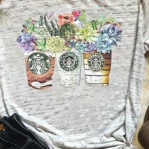 Starbucks coffee t-shirt 🆕